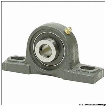 2.438 Inch | 61.925 Millimeter x 4 Inch | 101.6 Millimeter x 3.25 Inch | 82.55 Millimeter  DODGE P4B-DI-207R  Pillow Block Bearings