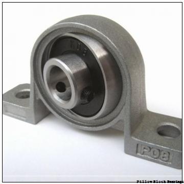 2.25 Inch | 57.15 Millimeter x 4 Inch | 101.6 Millimeter x 3.25 Inch | 82.55 Millimeter  DODGE P2B-DI-204R  Pillow Block Bearings