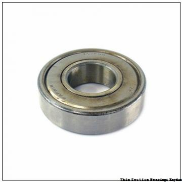 35 x 55 x 10  KOYO 6907 ZZ  Single Row Ball Bearings