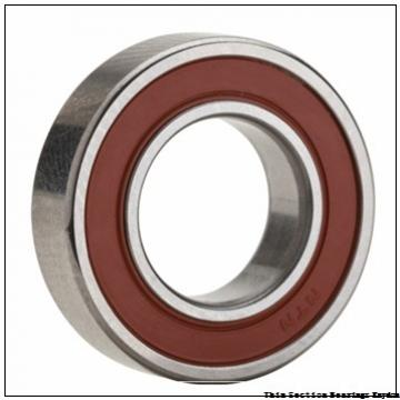 220 mm x 270 mm x 24 mm  FAG 61844  Single Row Ball Bearings